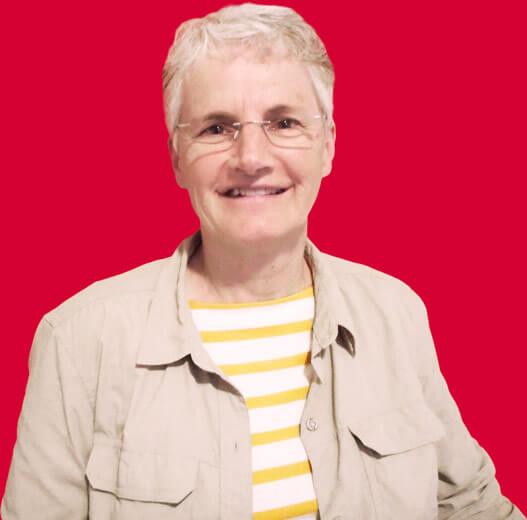 Photo of Jeannine Alain, Saskatoon Parkinson's support group facilitator